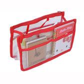 【韓式情人】日本流行透明外出功能收納包(六色)整理包/盥洗包/旅行包/文具包