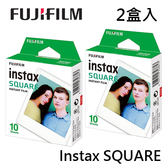 2入賣場(共20張) 3C LiFe FUJIFILM Instax SQUARE 拍立得底片 方型底片 空白底片 適用 instax SHARE SP-3