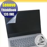 【Ezstick】Lenovo ThinkBook 13S IWL 靜電式筆電LCD液晶螢幕貼 (可選鏡面或霧面)
