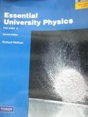 【書寶二手書T3/大學理工醫_ZJI】Essential University Physics:Volume 2_Wol
