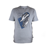 PUMA 基本系列鞋款短袖T恤 灰 581911-03