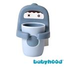 Babyhood 世紀寶貝 朵朵牙刷杯-格里藍[衛立兒生活館]