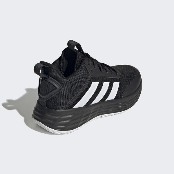 Adidas Ownthegame 2.0 K [H01558] 大童鞋 女鞋 籃球鞋 輕量 耐磨 透氣 愛迪達 黑