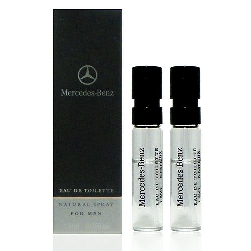 Mercedes-Benz Eau de Toilette Spray 賓士淡香水 1.5ml x 2