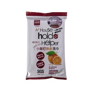 hold(好)擦小蘇打廚房濕巾15枚