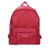 LONGCHAMP Le Pliage Neo厚尼龍小型後背包(桃紅色)480611-232