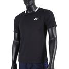 Yonex T-Shirts [11521TR007] 男 短袖 上衣 運動 休閒 舒適 透氣 機能 吸汗 快乾 黑