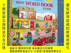 二手書博民逛書店英文原版罕見Best Word Book Ever 理查德斯凱瑞 看圖識字Y3021 Richard Scar