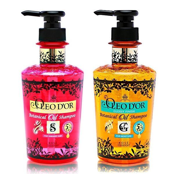 OLEO D'OR 歐莉朵 黃金植物油 洗髮乳 Kose 兩款可選(500ml) OLEODOR-HE