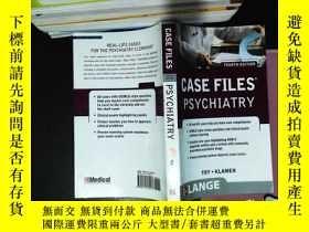 二手書博民逛書店Case罕見Files Psychiatry, Fourth E
