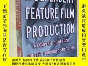 二手書博民逛書店英文原版罕見Independent Feature Film Production: A Complete Gui