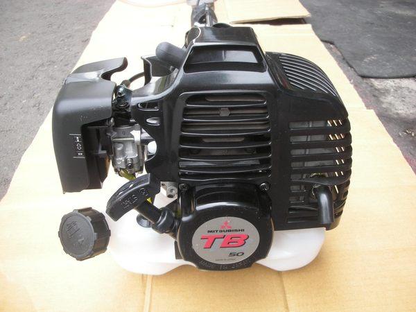日本製三菱TB50引擎 推式三輪二行程割草機