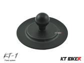 [安信騎士] KT BIKER 單售 KT-1 手機架 黏貼式球體 摩托 機車 支架 配件 零件 KTP114