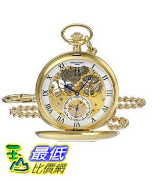[美國直購] 手錶 Charles-Hubert, Paris 3972-G Premium Collection Analog Display Mechanical Hand Wind Pocket Watch