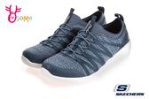 Skechers懶人鞋 ARYA 女鞋 低跟健走鞋 套入式免綁帶 運動鞋 S8224#藍色◆OSOME奧森鞋業