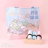 日貨折疊式環保購物袋鬆緊帶款 角落生物v3- Norns 日本進口手提袋 環保袋 Eco bag 聖誕禮物