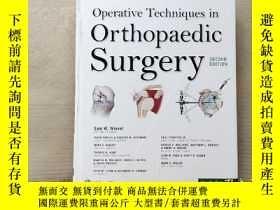 二手書博民逛書店Operative罕見Techniques: Orthopaed