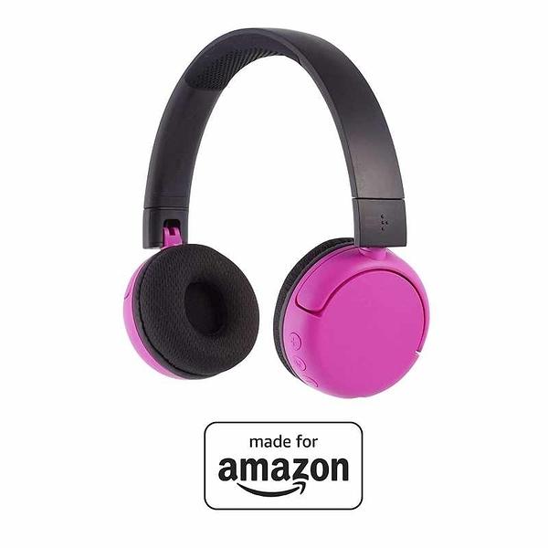 PopTime 耳機 Volume Limiting Bluetooth BuddyPhones 適用8-15歲 粉/紫/藍 [2美國直購]