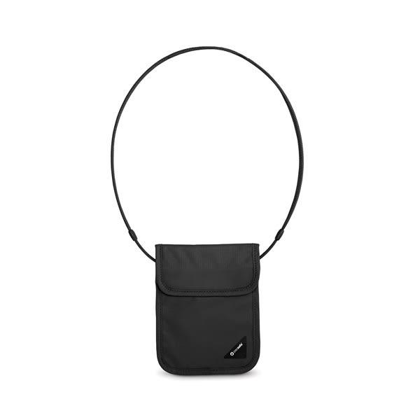 [Pacsafe] Coversafe X75 anti-theft RFID 掛式護照卡包 黑 (10148100)
