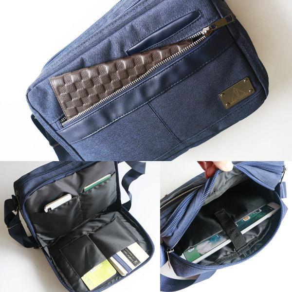 Catsbag|商務 機車族 上班族 多口袋卡槽斜背包 187530411
