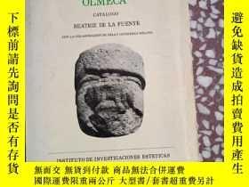 二手書博民逛書店ESCULTURA罕見MONUMENTAL OLMECA(原版西文)Y10445 BEATRIZ DE LAF