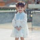 洋裝 女童漢服洋裝連衣裙兒童唐裝中國風童裝裙子寶寶襦裙小女孩古風洋裝連衣裙 快速出貨