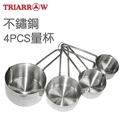 【三箭牌】不鏽鋼4PCS量杯24127《烘焙器具(材)》