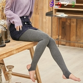 褲襪 2條裝 150G 灰色 打底褲 外穿 連褲襪 中厚 加絨加厚 保暖褲 棉褲