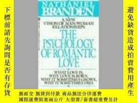 二手書博民逛書店Psychology罕見Of Romantic Love, TheY256260 Nathaniel Bran