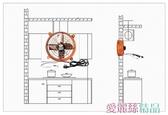 秒殺排氣扇廚房油煙排風扇強力換氣扇家用抽風機衛生間窗LX 交換禮物