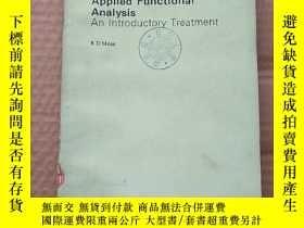 二手書博民逛書店applied罕見functional analysis an introductory treatment(P4