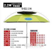 龍王恨釣傘釣魚傘防風防雨防曬加厚加大地插傘包萬向2.4米MBS『潮流世家』