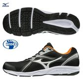 MIZUNO MAXIMIZER 21 男鞋 慢跑 健走 寬楦 入門 基本 透氣 耐磨 黑 橘【運動世界】K1GA200054