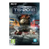 PC GAME-模擬列車 模擬火車2016  Train Simulator 2016 英文版 銷售冠軍  贈送巧克力鍵盤