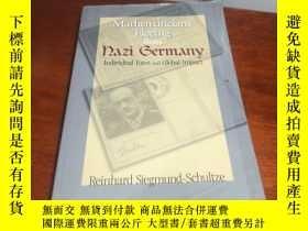 二手書博民逛書店英文原版《Mathematicians罕見Fleeing from Nazi Germany 》(從納粹德國流亡的