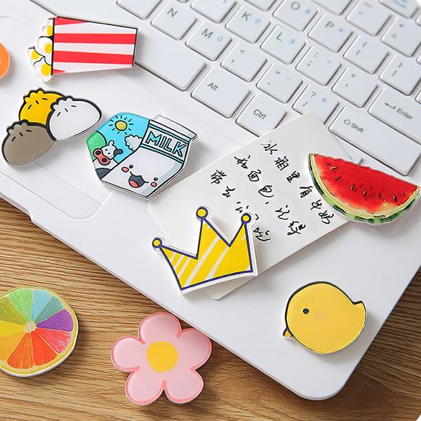 文具 卡通冰箱留言磁鐵 可愛造型 童趣 貼便簽 貼照片 造型磁鐵 【PMG243】SORT