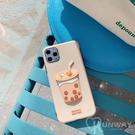 珍珠奶茶 熊熊 可愛 IMD 防摔殼 iPhone 12 mini 11 Pro Max XR Xs 7/8 SE2 蘋果 手機殼