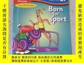 二手書博民逛書店Born罕見for sport(Words and Pictur