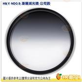 H&Y ND0.9 67mm 漸層減光鏡 二代 公司貨 德國 玻璃 漸變鏡 漸層鏡 多層鍍膜 防水防油