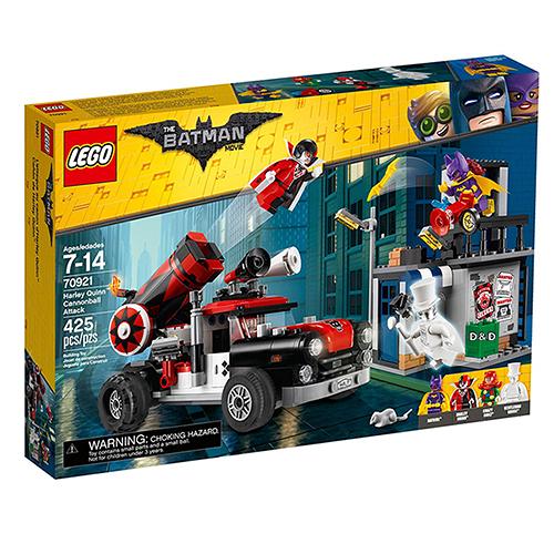 樂高積木 LEGO《 LT70921 》Batman Movie 樂高蝙蝠俠電影系列 - Harley Quinn Cannonball Attack
