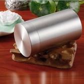 正品錫罐 錫製茶葉罐 純錫茶葉罐 錫壺器旅行罐 車載煙罐【罐蓋光面】