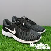 Nike Wmns Revolution 4 黑白 低筒 4代 慢跑 女 (布魯克林) 2018/1月 908999-001