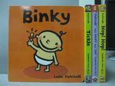 【書寶二手書T3/少年童書_OSM】Binky_Tickie_Hop!Hop!等_共4本合售