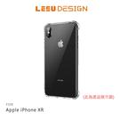 【愛瘋潮】LEEU DESIGN Apple iPhone XR 6.1吋 傲熊冰封 氣囊鋼化玻璃殼 手機殼