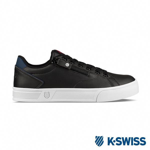 K-SWISS Court Lite Zipper S休閒運動鞋-女-黑