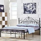 床架 歐式金屬環保時尚鐵藝公主床1.5鐵藝雙人床架1.8m單人鐵架床1.2米igo 傾城小鋪