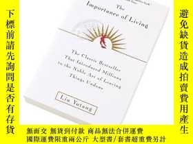 二手書博民逛書店[英文原版]The罕見Importance Of Living生活的藝術英文原版  林語堂Y335736 Li