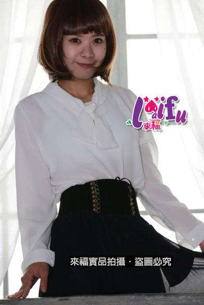★草魚妹★HH207腰封天鵝絨甜心腰封腰帶皮帶,售價150元