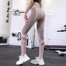 運動褲 春秋瑜伽褲女高腰收腹跑步訓練運動緊身褲彈力提臀速干瑜伽打底褲