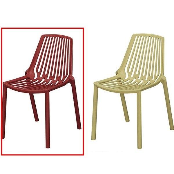 餐椅 CV-769-16 8088紅色餐椅【大眾家居舘】